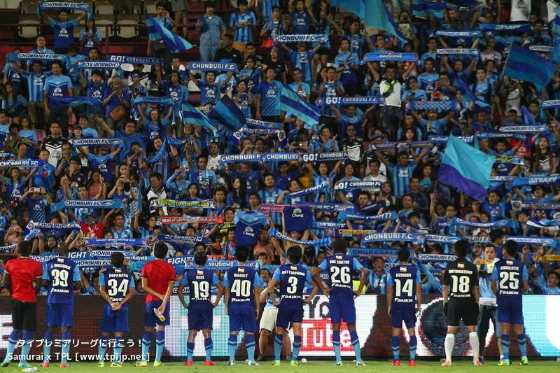 Chonburi FC fan 2014