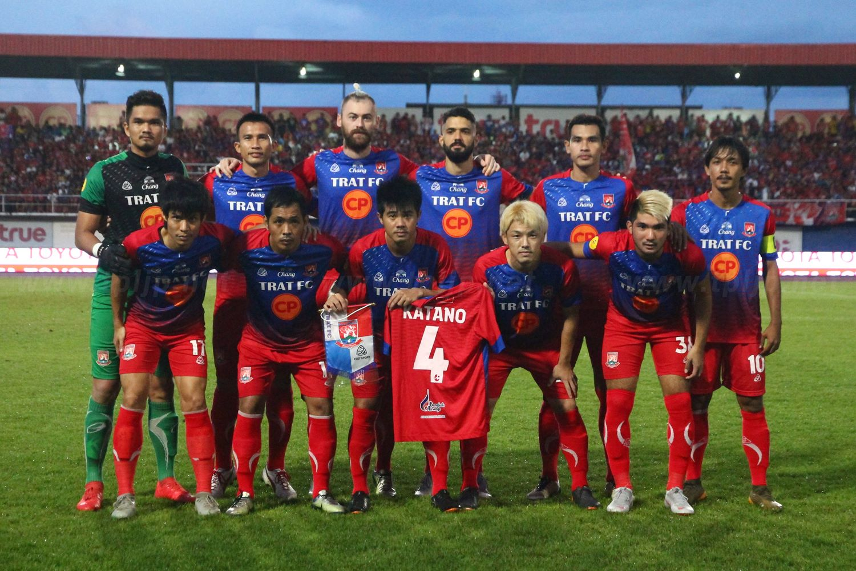 Trat FC vs Thai Honda FC T2 2018
