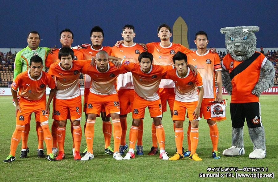Nakhonratchasima FC set 2013